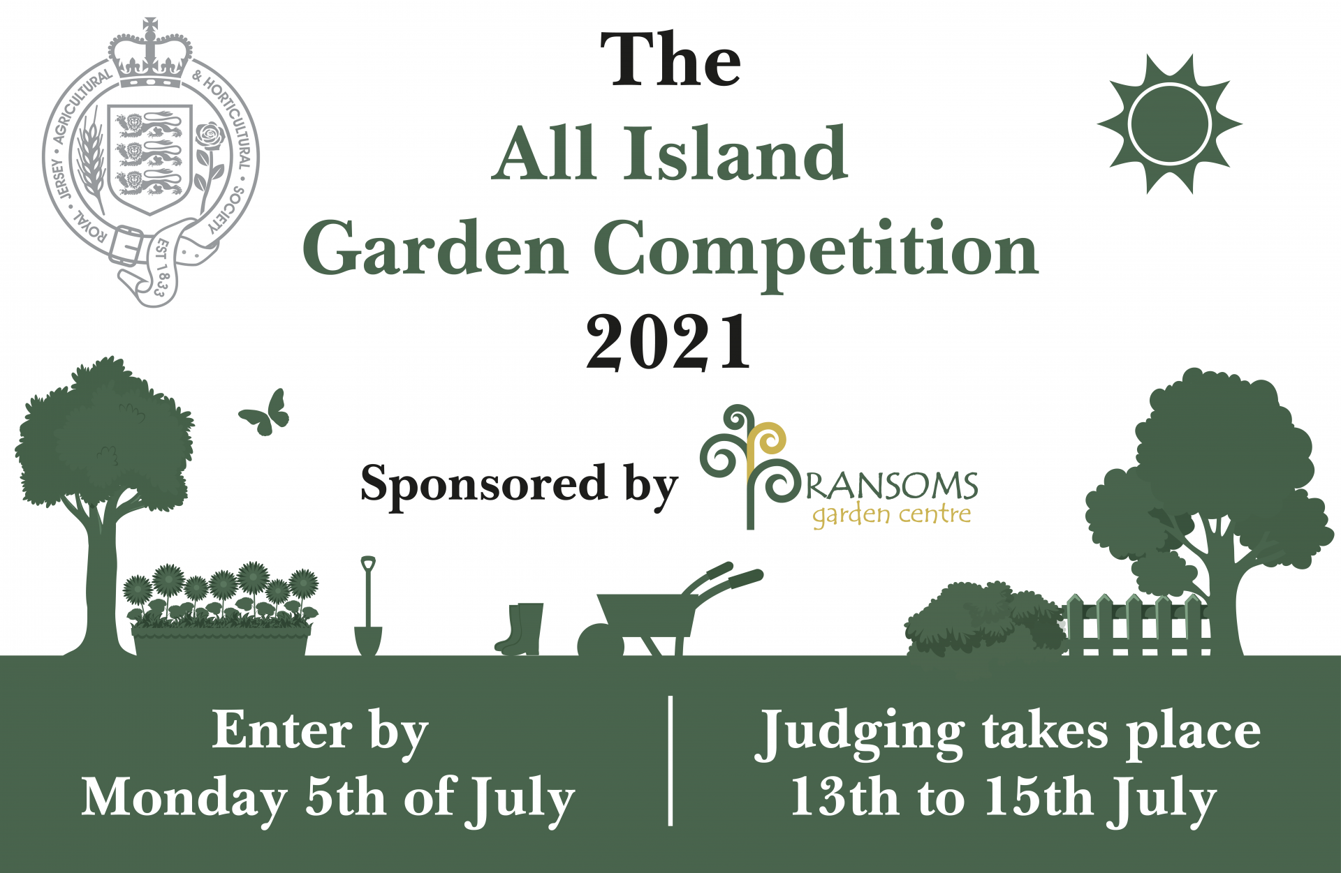 Jersey All Island Garden Competition 2021